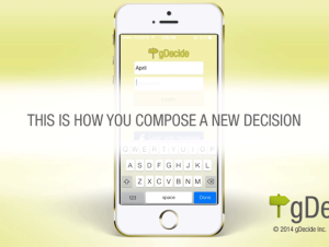 gdecide mobile software demonstration